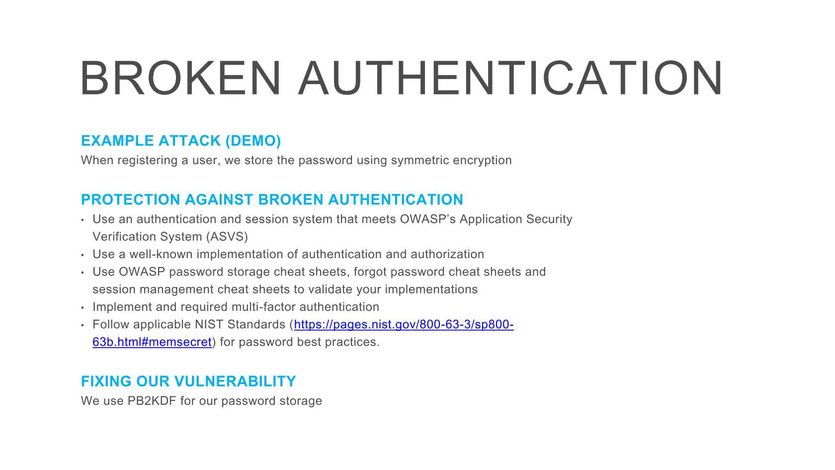 OWASP Top 10 Vulnerabilities & ASP NET
