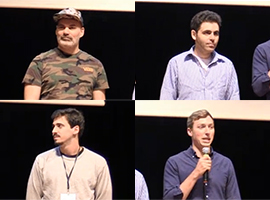Painel com os core commiters