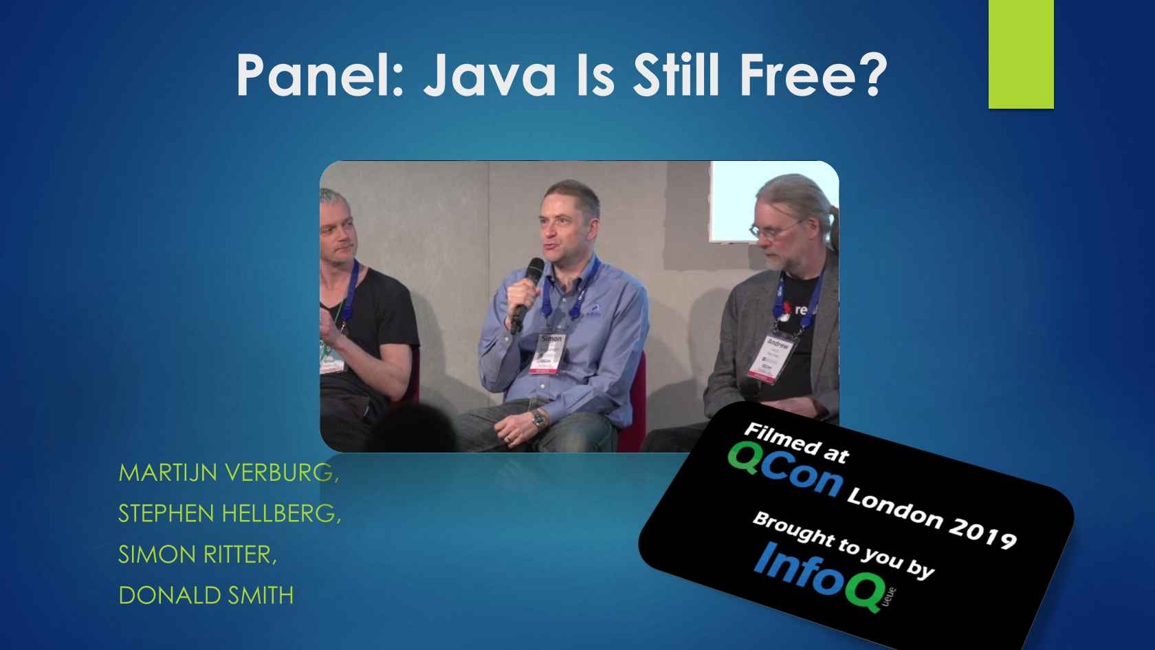 Panel: Java Is Still Free?
