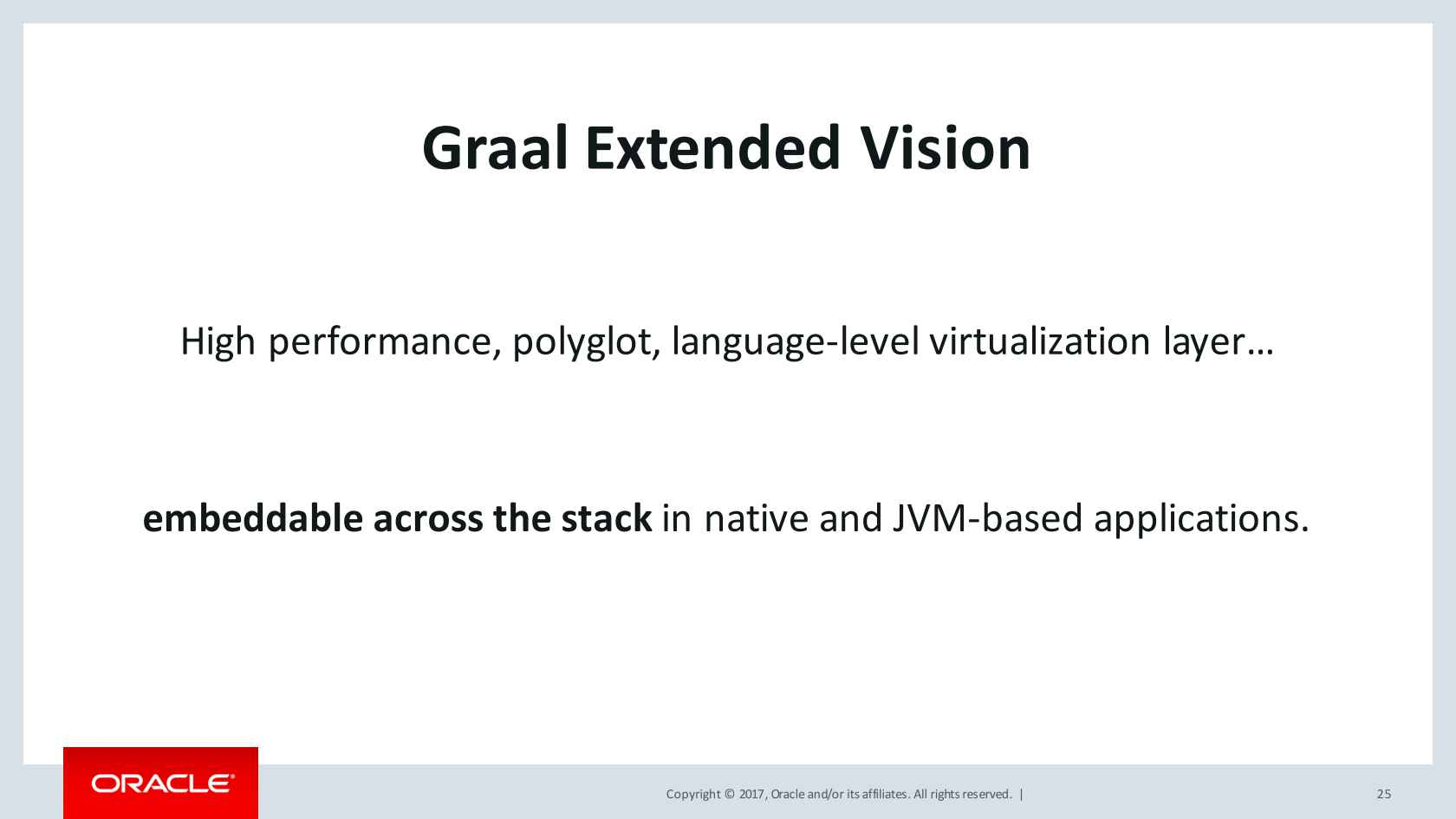 Polyglot on the JVM with Graal