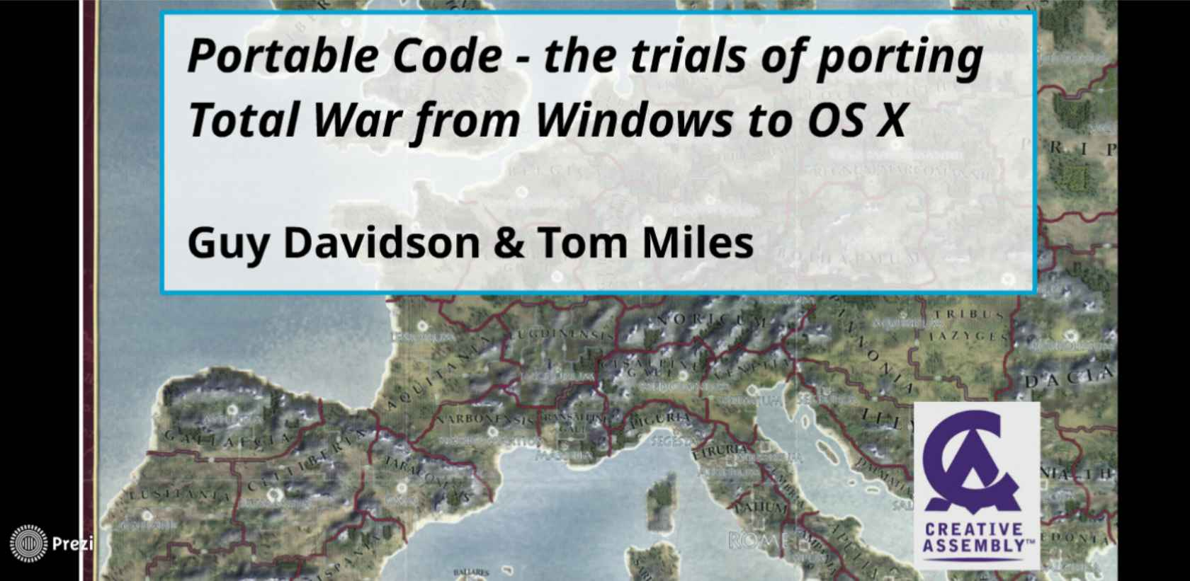 Portable Code - The Trials of Porting Total War from Windows