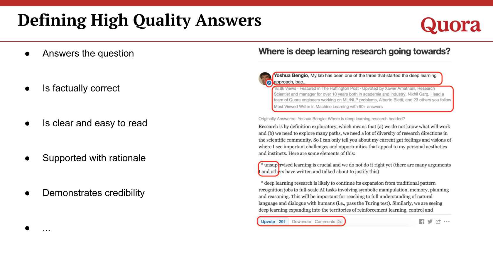 Scaling Quality On Quora Using Machine Learning
