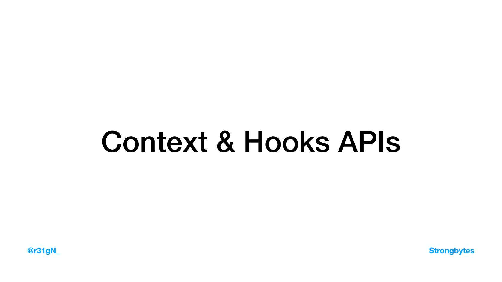 State Management for React Using Context and Hooks