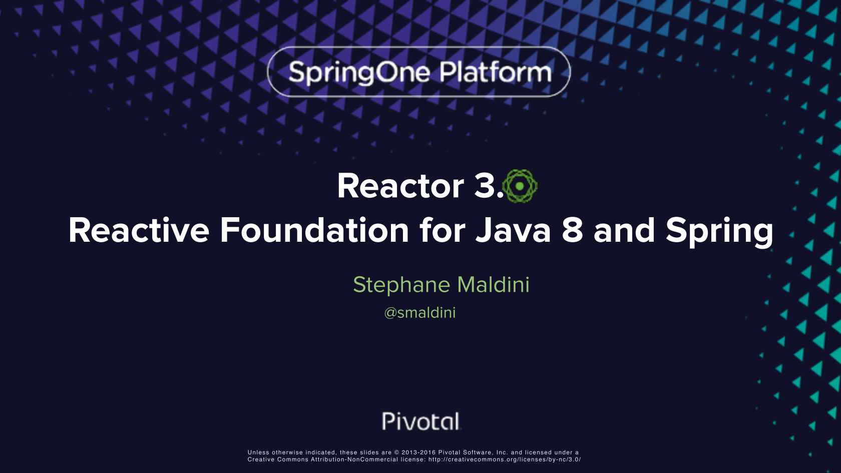 Reactor 3 0, a JVM Foundation for Java 8 and Reactive Streams