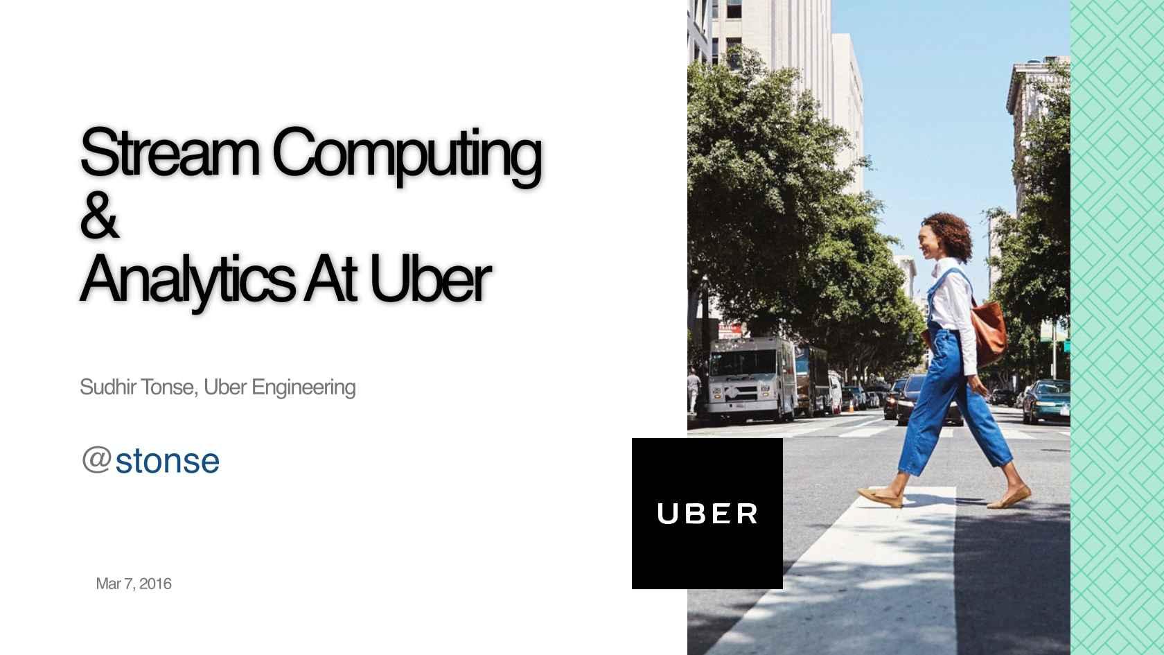 uber analytics