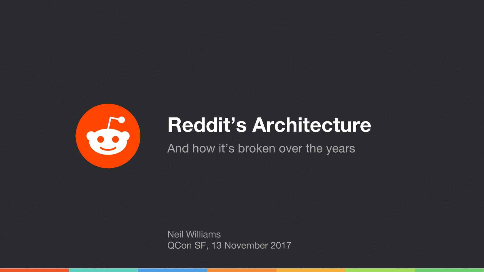 The Evolution of Reddit com's Architecture