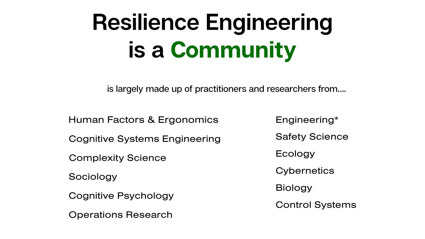 Amplifying Sources of Resilience: What Research Says