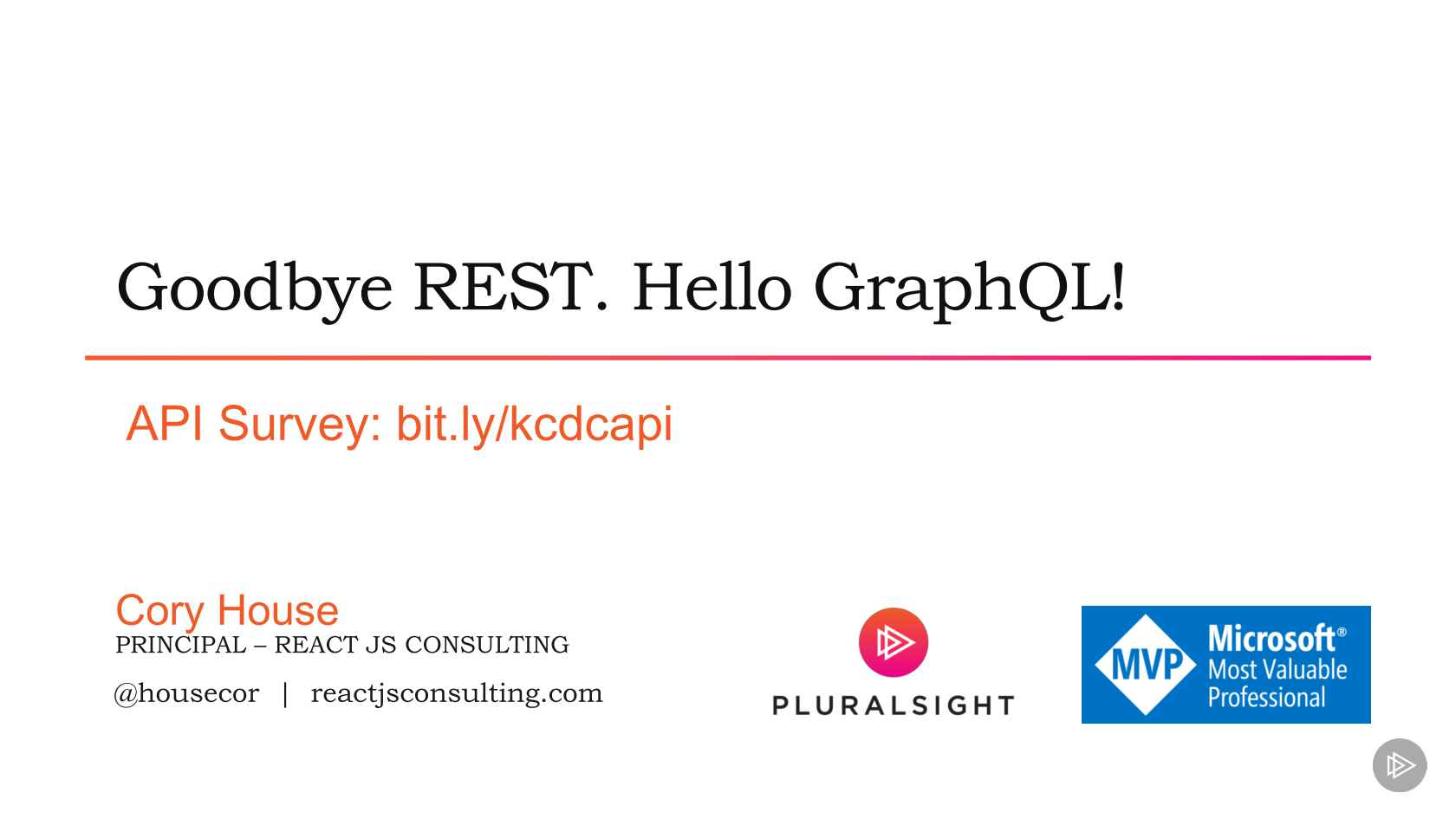 Goodbye REST APIs  Hello GraphQL!