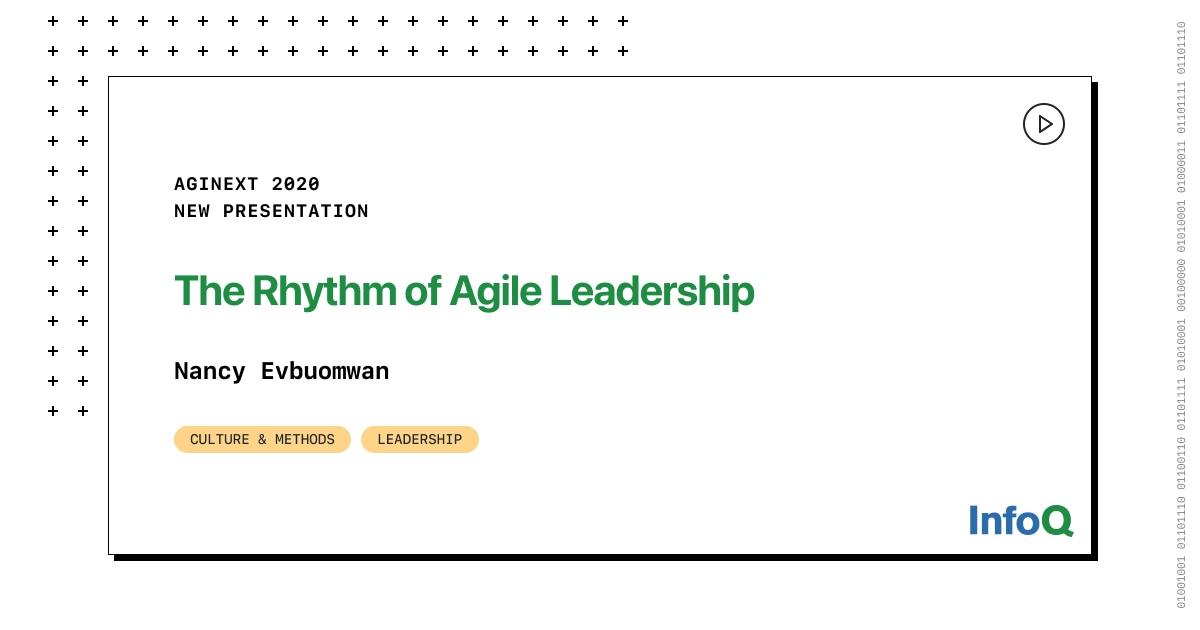 Presentation: The Rhythm of Agile Leadership
