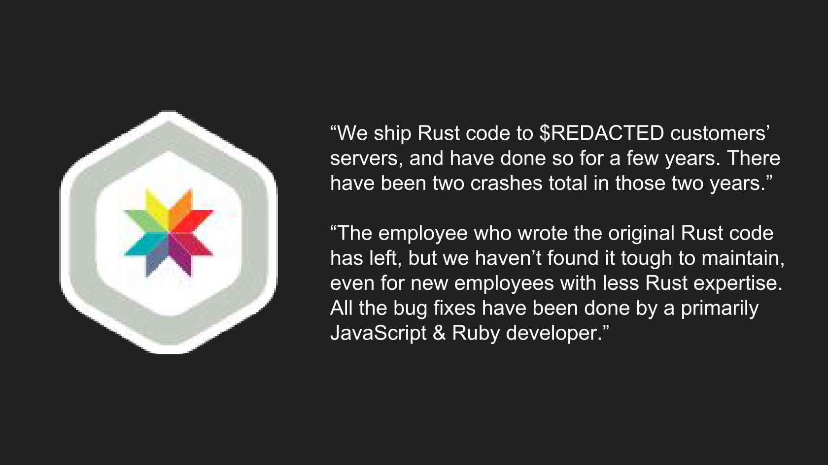 Rust in Production