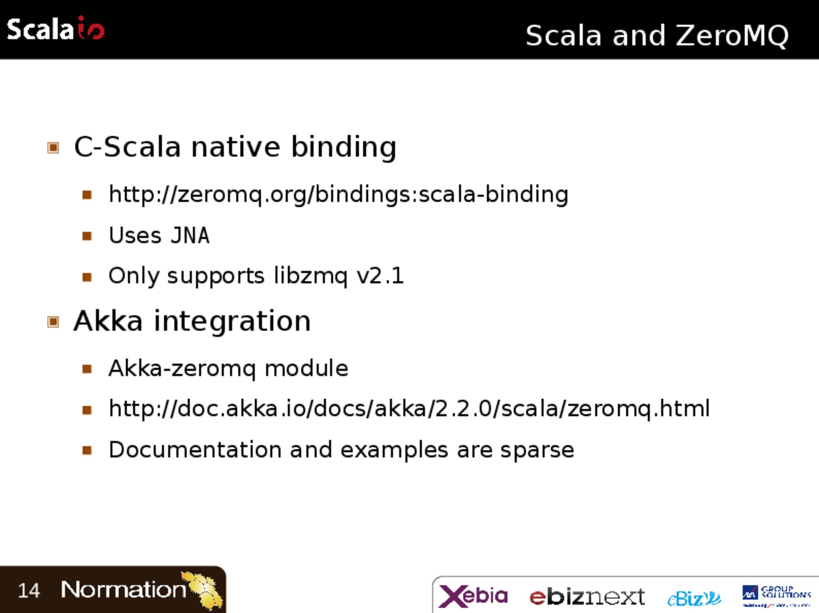 Scala and ZeroMQ, Events beyond the JVM