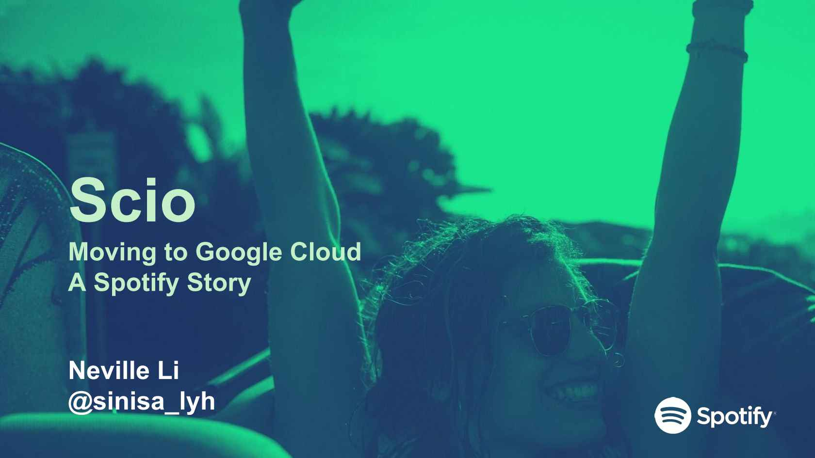 Scio: Moving Big Data to Google Cloud, a Spotify Story
