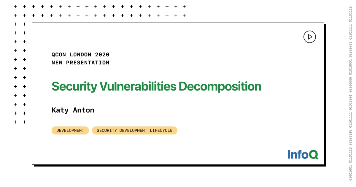 Security Vulnerabilities Decomposition