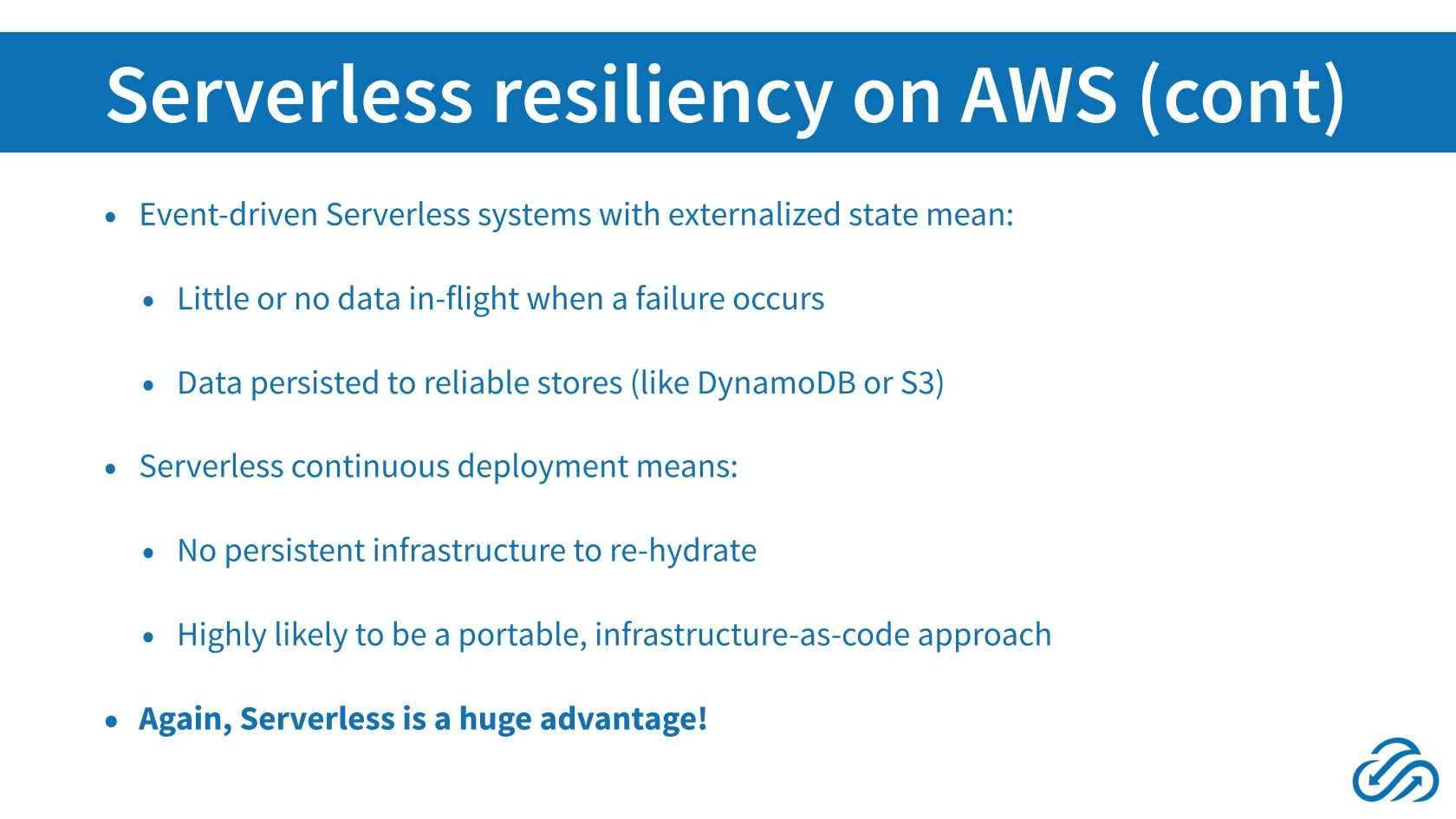 Building Resilient Serverless Systems