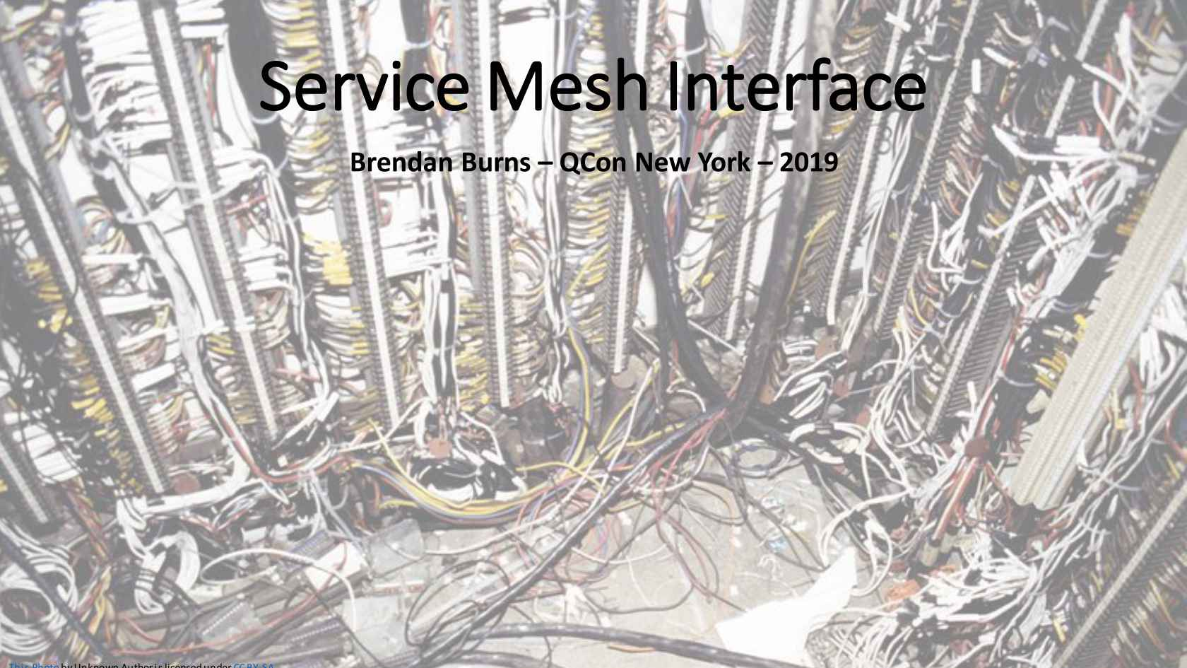 Introduction to SMI (the Service Mesh Interface)