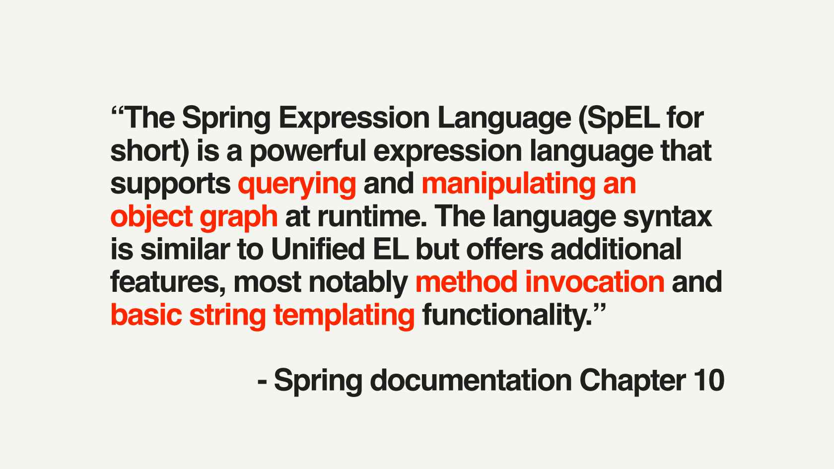 Putting a SpEL on Spinnaker: Evolving an Expression Language