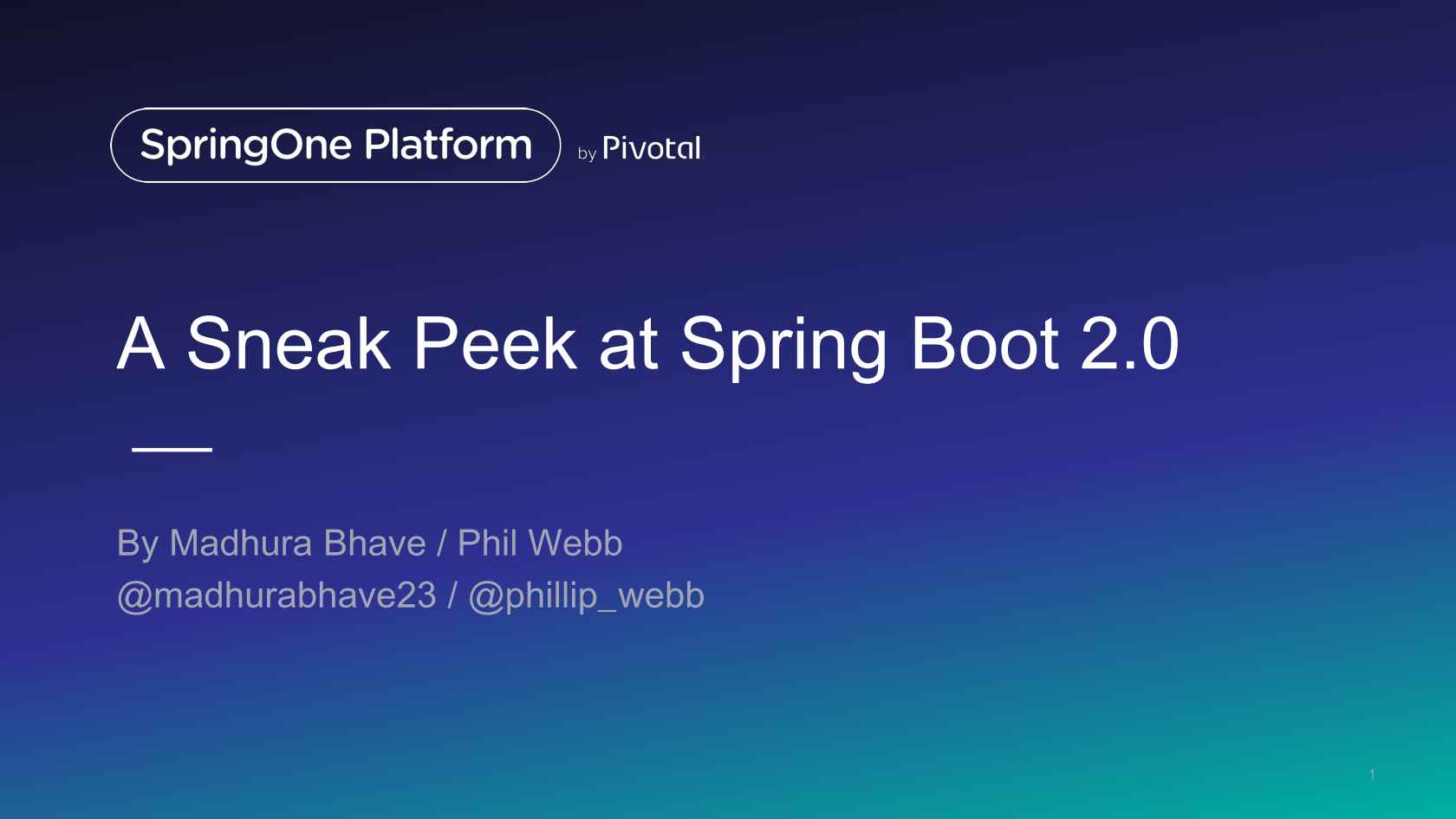 What's New in Spring Boot 2 0