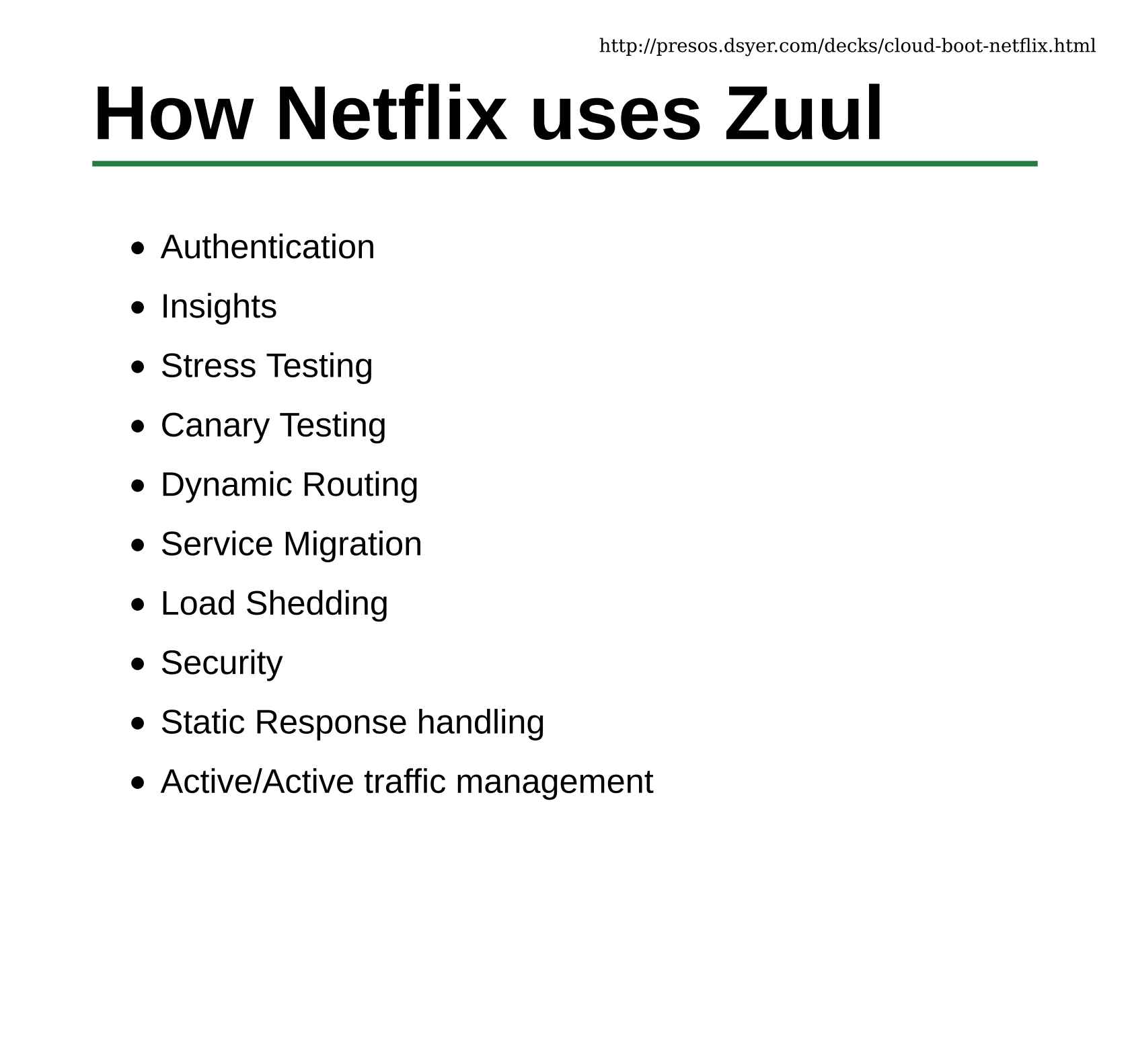 Spring Boot and Netflix OSS