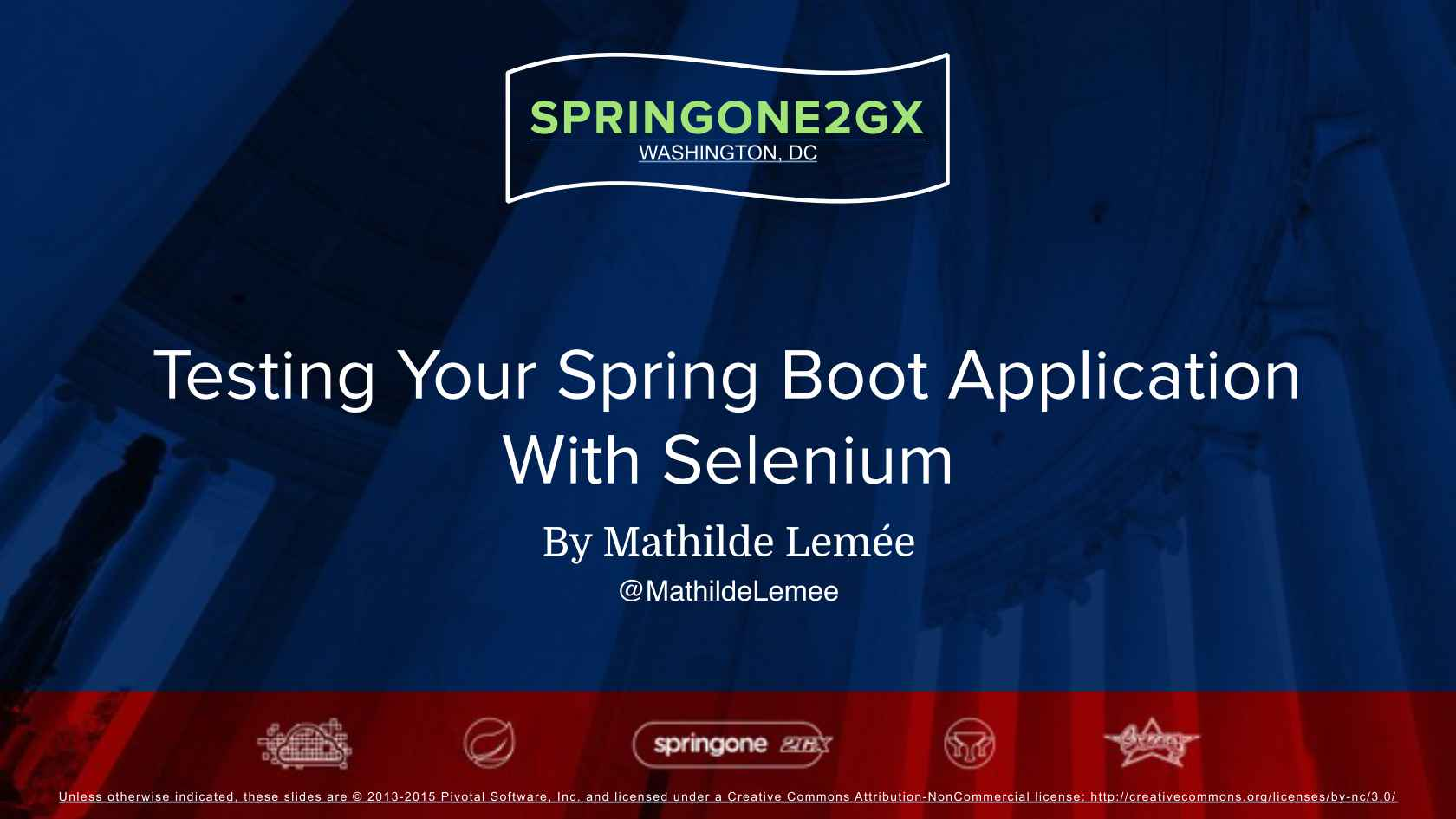 Testing your Spring Boot Application with Selenium