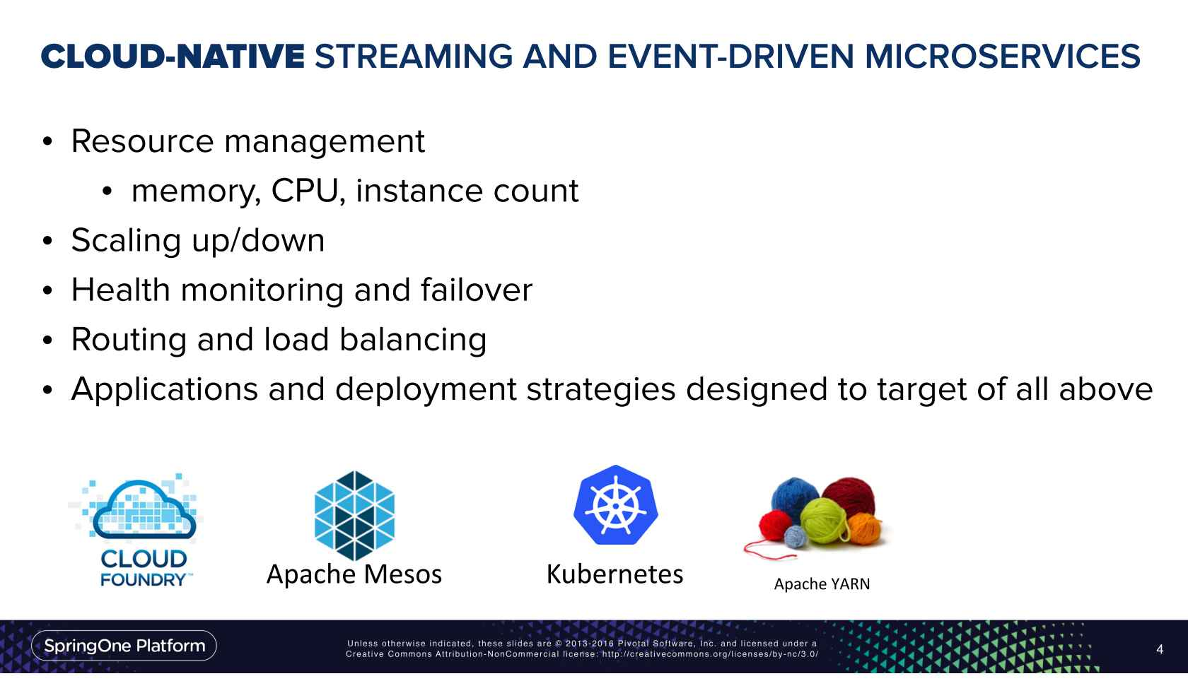 Cloud Native Streaming and Event-driven Microservices