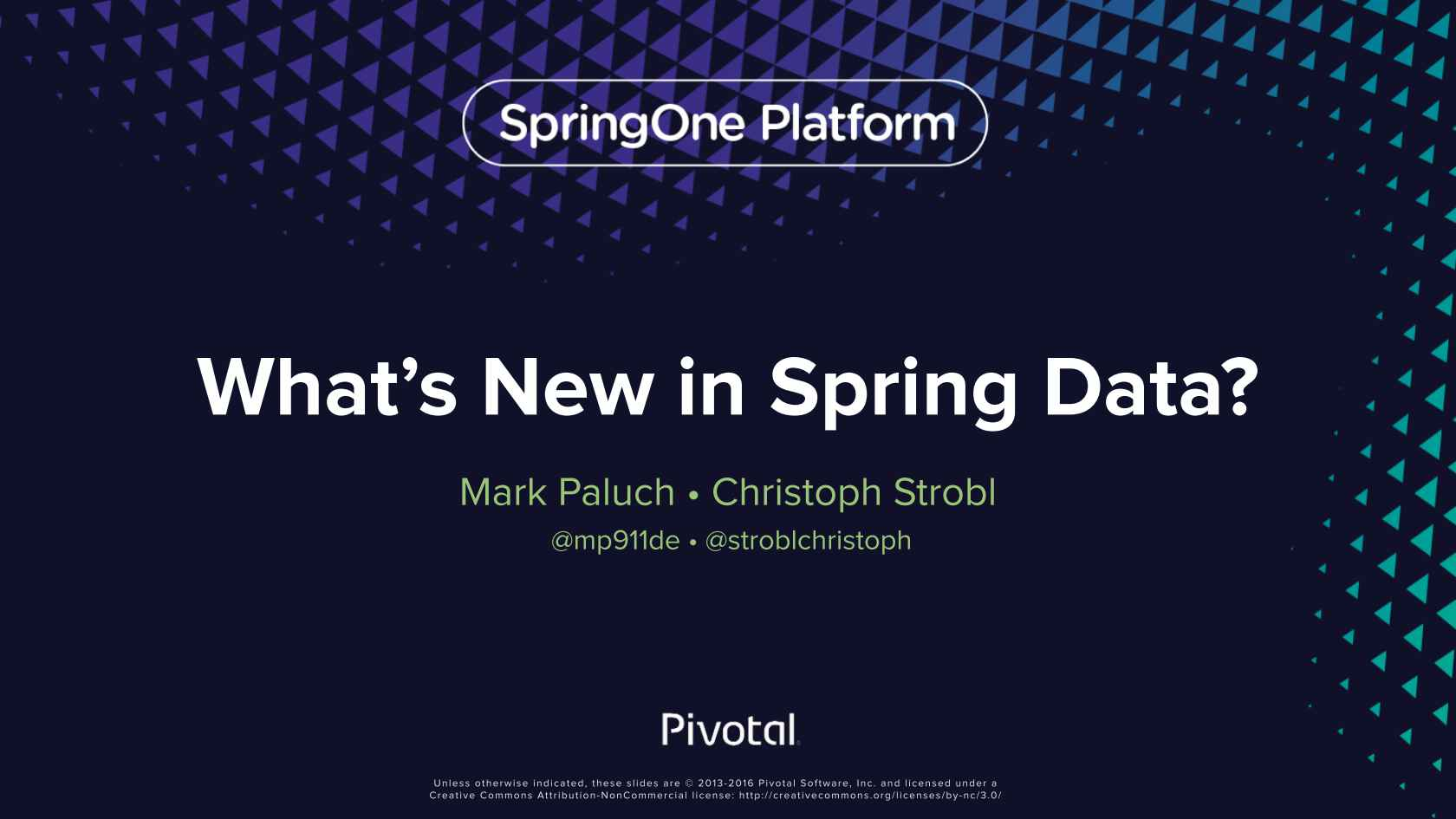 What's New in Spring Data?