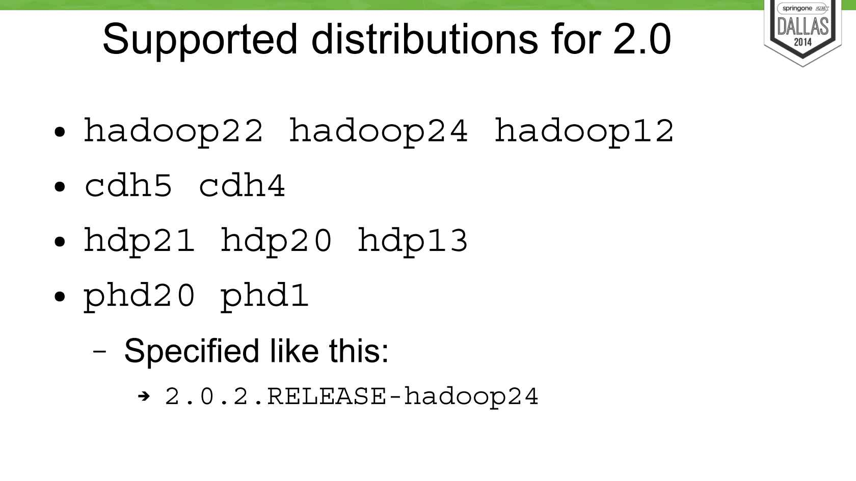 Introduction to Spring for Apache Hadoop