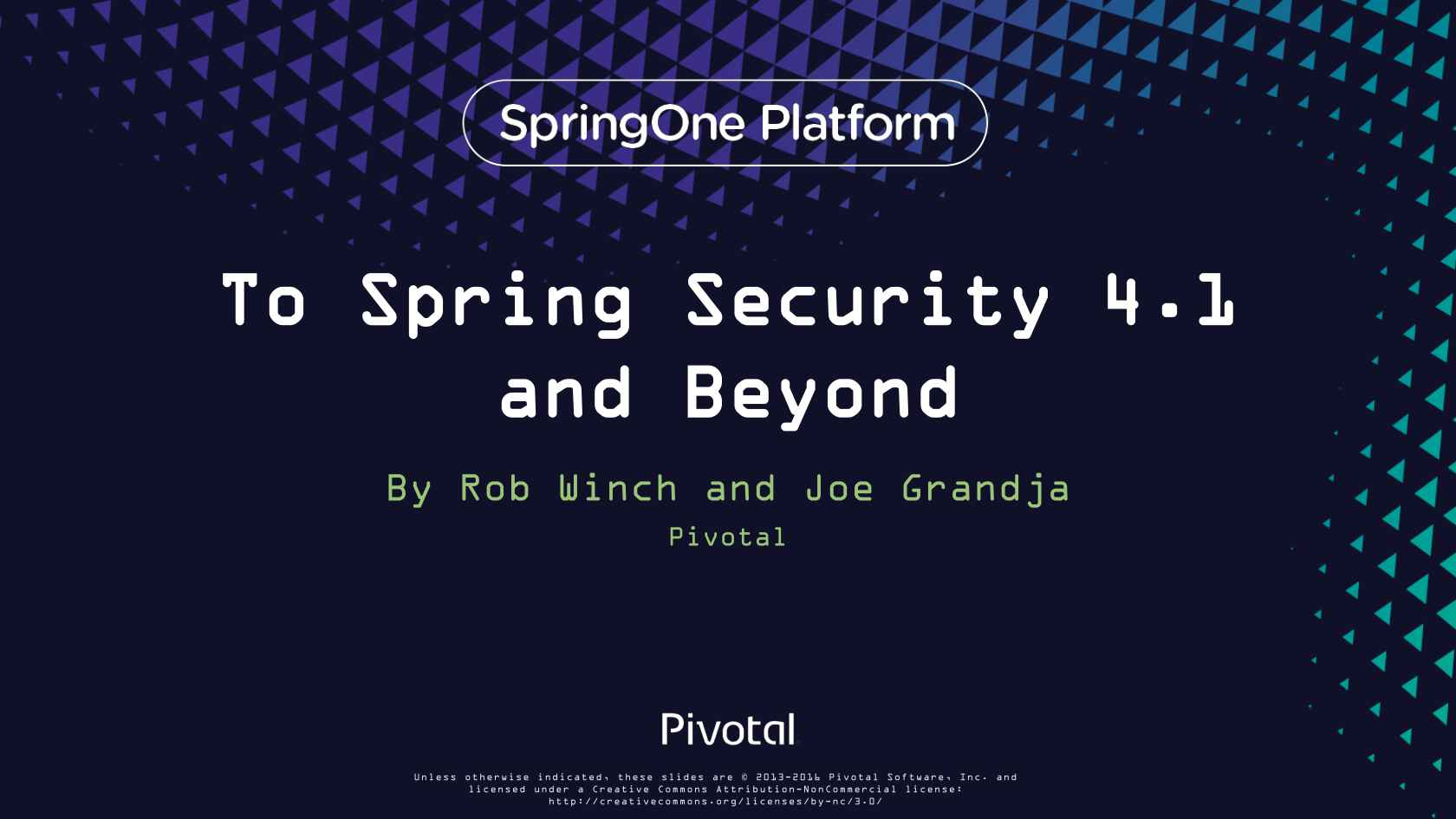To Spring Security 4 1 and beyond