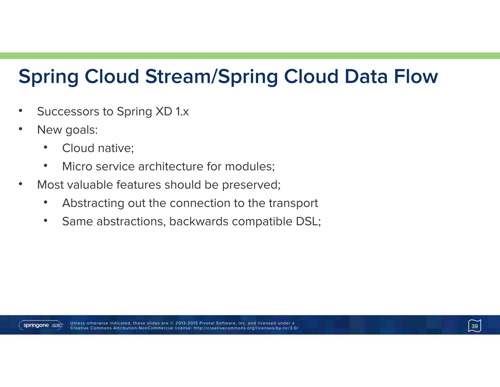 Stream Processing at Scale with Spring XD and Kafka