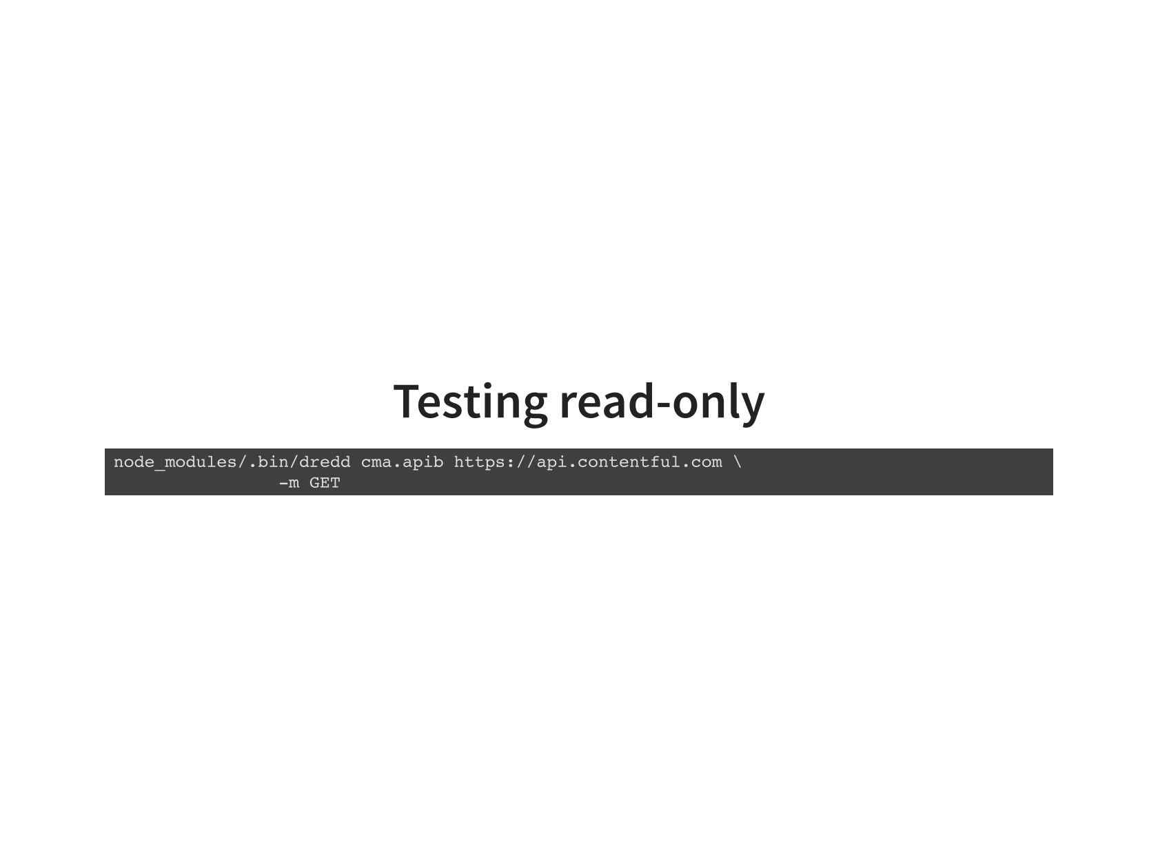 Automated testing of restful api documentation nginx malvernweather Choice Image