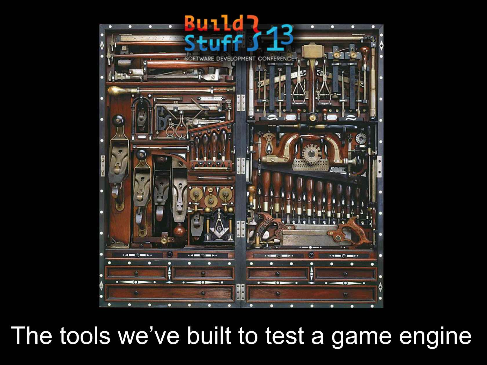 The Tools We've Built to Test a Game Engine