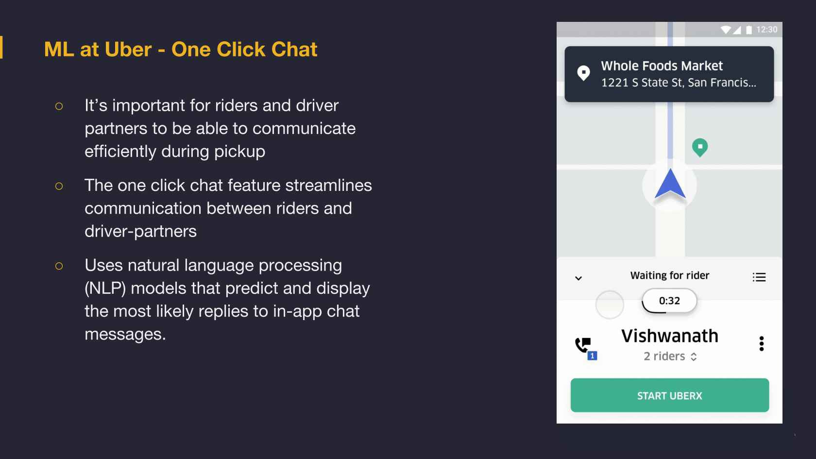 Michelangelo - Machine Learning @Uber