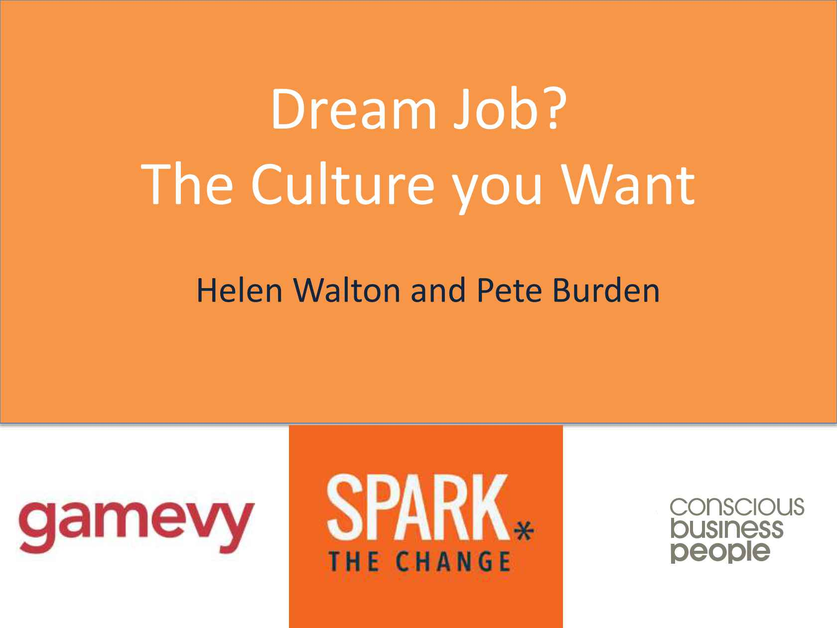 Dream job the vision and journey to the company culture you want junglespirit Gallery