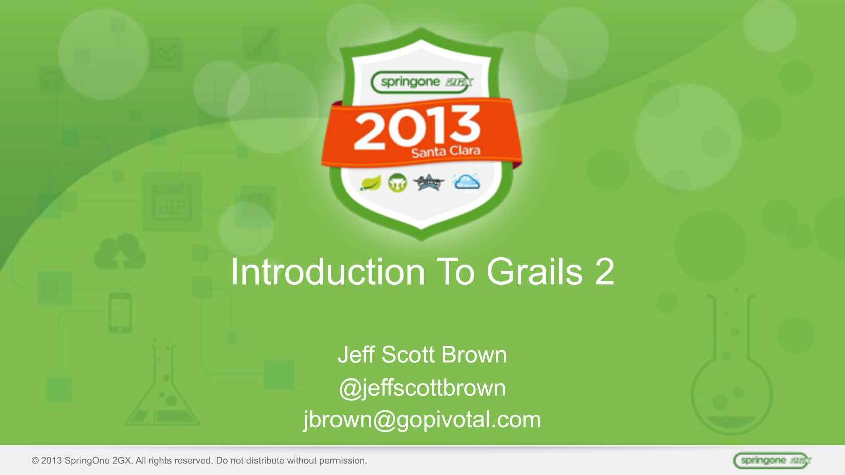 An Introduction To Web Development With Grails 2