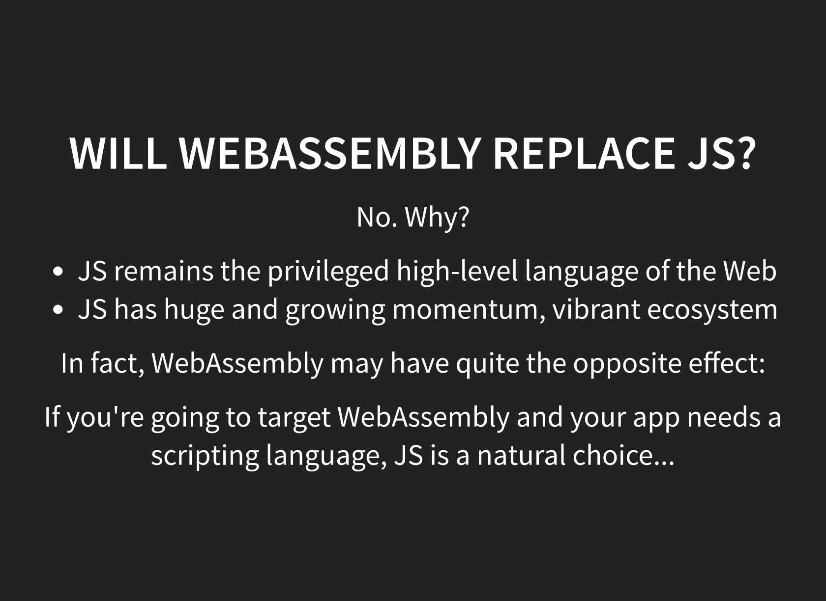 WebAssembly: A New Compilation Target for the Web