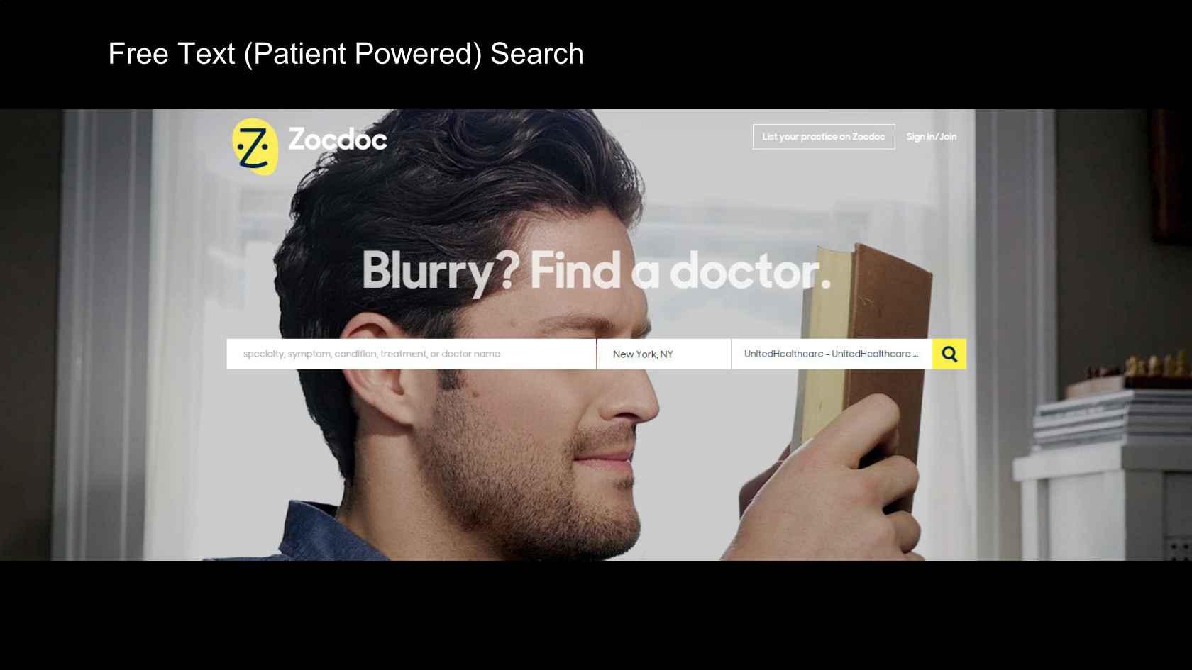 Architecture & Algorithms Powering Search @ZocDoc